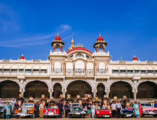 FHVI Royal Classic Car Drive to Mysore 2018