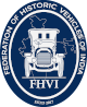 Federation of Historic Vehicles of India (FHVI) Logo